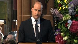 Extended: Prince William speaks at memorial