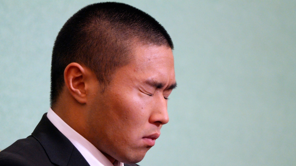 The Japanese college football player has apologized for intentionally injuring the quarterback of an opposing team, an incident that has riveted Japan for several weeks. (AP Photo/Eugene Hoshiko)