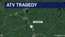 Deadly ATV crash in Kearny