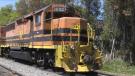 Huron Central Railway freight train