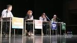 Candidates debate at Barrie high school