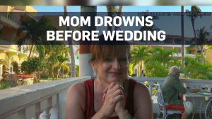 Wedding continues just hours after mother's death