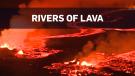 Overnight eruption of Kilauea volcano