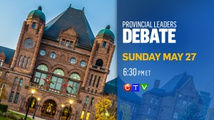 Election debate to take place May 27, 2018.