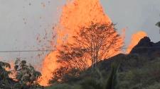 Hawaii lava