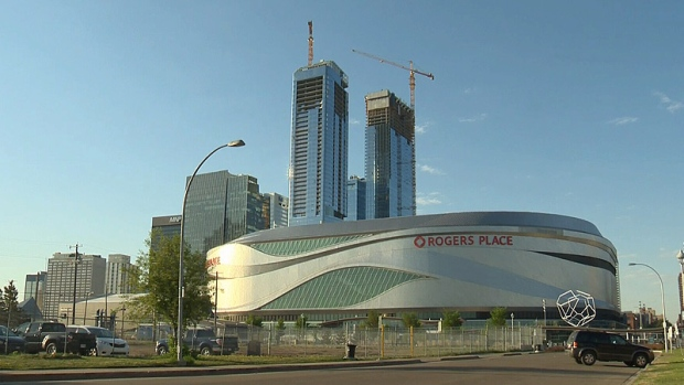 New Highrise Towering Above The Rest In Downtown Edmonton