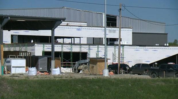 Tsuut'ina Nation, ice plant, $2 million grant, ndi