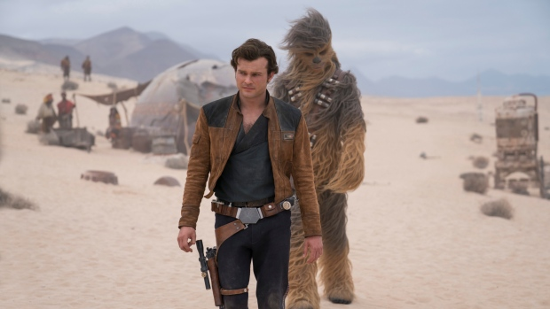 'Solo: A Star Wars Story' falls 65 percent in second weekend
