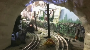 Model train 20 years in the making