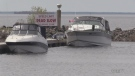 Boats in North Bay Waterfront Marina