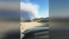 Hundreds flee fires in eastern Manitoba