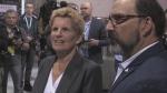 Ontario Liberal Leader Kathleen Wynne in Sudbury