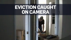 Caught on cam: Alleged illegal eviction in B.C.