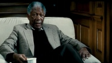 Morgan Freeman transit ads