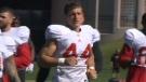 Tyler Stoddard - Calgary Stampeders hopeful