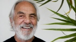 Tommy Chong pose for a picture at his home in Los Angeles on Tuesday, May 15, 2018. (AP Photo/Chris Carlson)