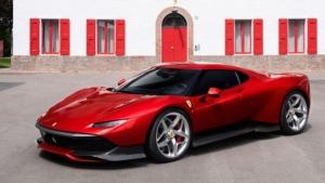 Ferrari SP38 (source: Relaxnews)