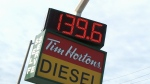 Gas prices near record level