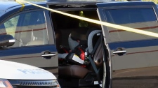 Toddler dies in parked car in Burlington