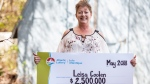 Chip-wagon worker Leisa Coolen plans to retire after winning $2.5 million on a scratch ticket. (Atlantic Lottery)