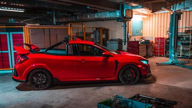 Yes, this is a Civic Type R pickup truck