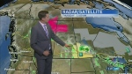 Calgary could see some rain. Kevin has details