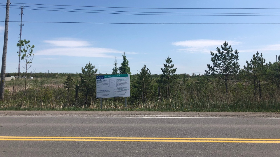 Amazon, the world's largest retailer is building a massive distribution centre at Boundary Road and Hwy. 417.  (CTV Ottawa)