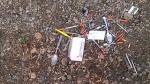 Used needles and drug paraphernalia found near Fleetwood Bawden Elementary School (image courtesy: Lyra Angus)