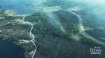 Two First Nations communities flee wildfires