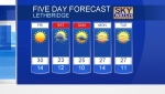 CTV Lethbridge Weather at 5 for May 24/18