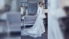 Meghan dress design