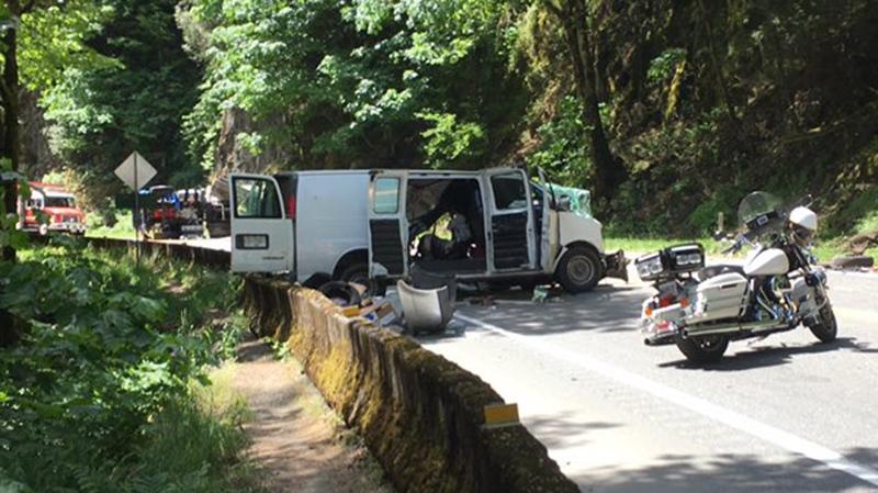 van malahat crash