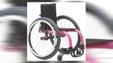 Stolen girl's wheelchair - Albert Park