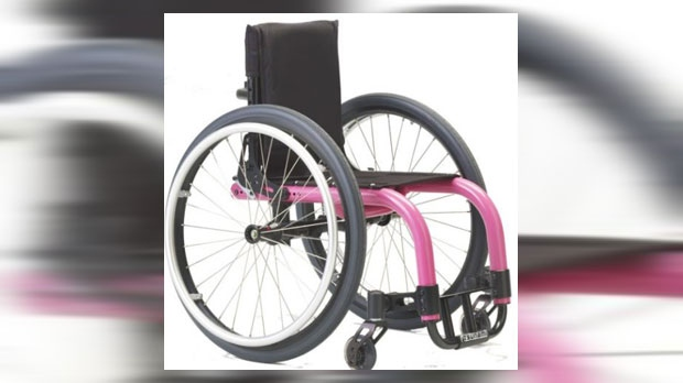 Police are attempting to locate a Tsunami Little Wave XP wheelchair, model TALWX-14, following the theft of a minivan in Albert Park (CPS)