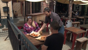 Somerset Village restaurants and bars taking over the street on weekends