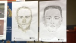 Mounties released a new composite sketch and re-released an earlier one, hoping the public will help to identify their suspect.