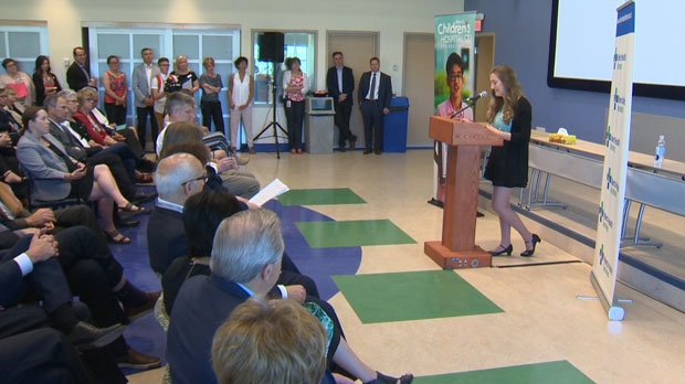 Julia Caddy, who survived a dark time of mental illness five years ago, says a new Calgary facility will help other youth with their struggles.