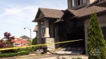 Damage tops $100,000 in garage fire