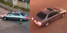 Traffic camera photos released by the RCMP show a vehicle believed to be linked to a series of sexual assaults in Surrey.