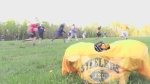 Sault Ste. Marie Steelers football team practice