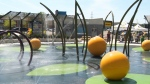 Free splash circle opens at The Boardwalk