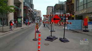Work on Ste-Catherine stretch pushed to 2019