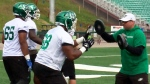 Riders looking for new faces at tackle, guard