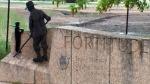 Memorial unveiled at site of internment camp