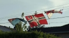 Burnaby homeowner flies Nazi flag