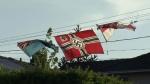 Burnaby homeowner flies Nazi flag