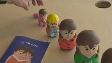 Sam, toy for transgender children