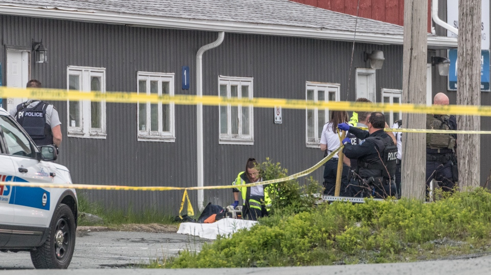 Nova Scotia's Serious Incident Response Team is investigating a shooting outside of a business in Cole Harbour, N.S. (Marilyn Burford)