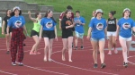 Students at Resurrection Catholic Secondary School held a Relay For Life fundraiser Friday, raising over $33,000.