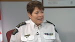 RCMP Commissioner Brenda Lucki on CTV News.